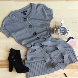 INC Cable Knit Cardigan